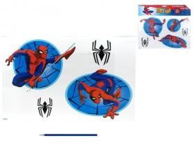 Samolepky na zeď Spiderman v sáčku