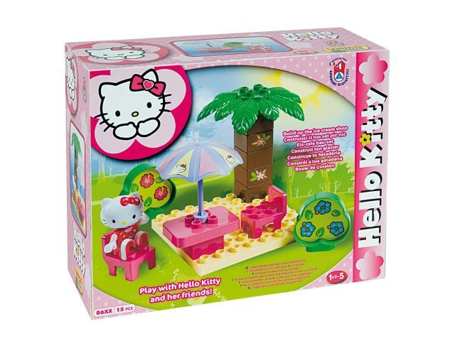 Stavebnice Hello Kitty pod palmou