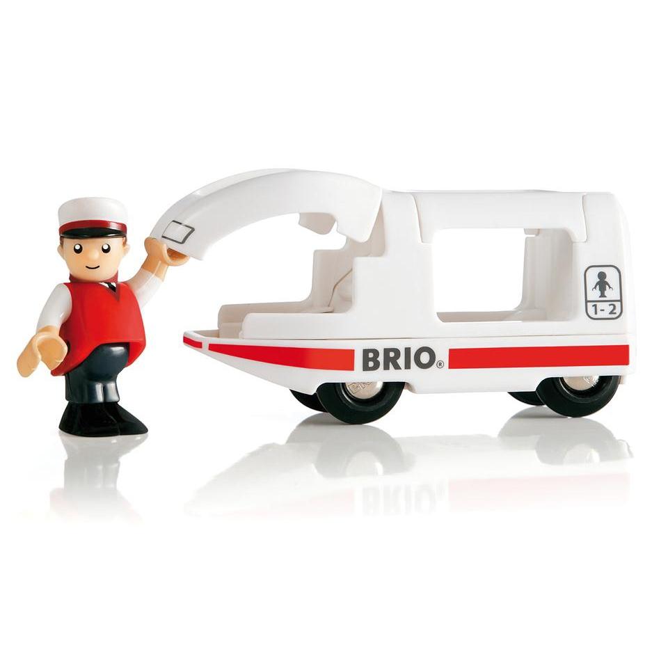 Brio - Lokomotiva  se strojvedoucím