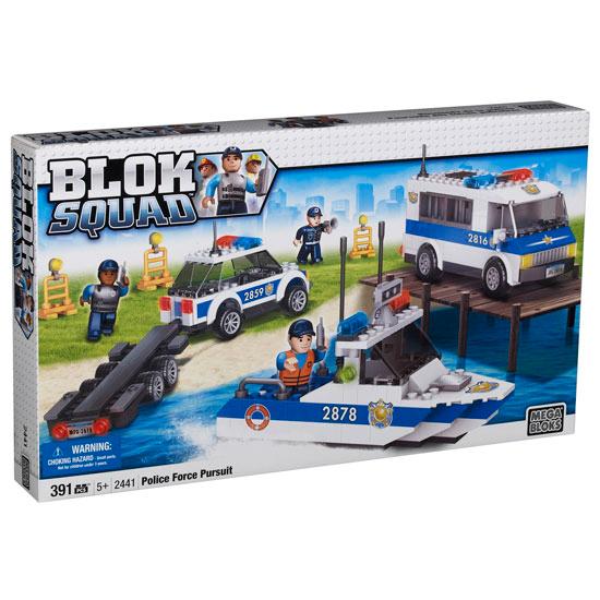 Mega Bloks - Přístavní policie