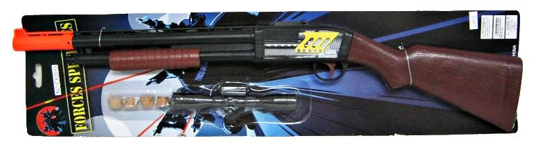 Pistole plastová - špuntovka