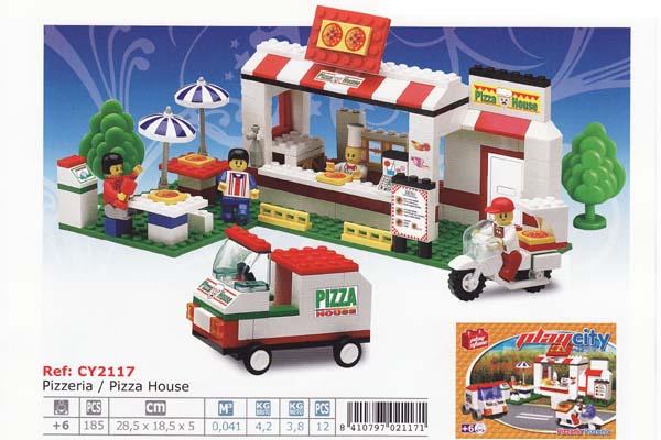 Stavebnice - Pizzerie