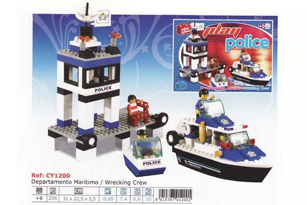 Stavebnice - Námořní policie