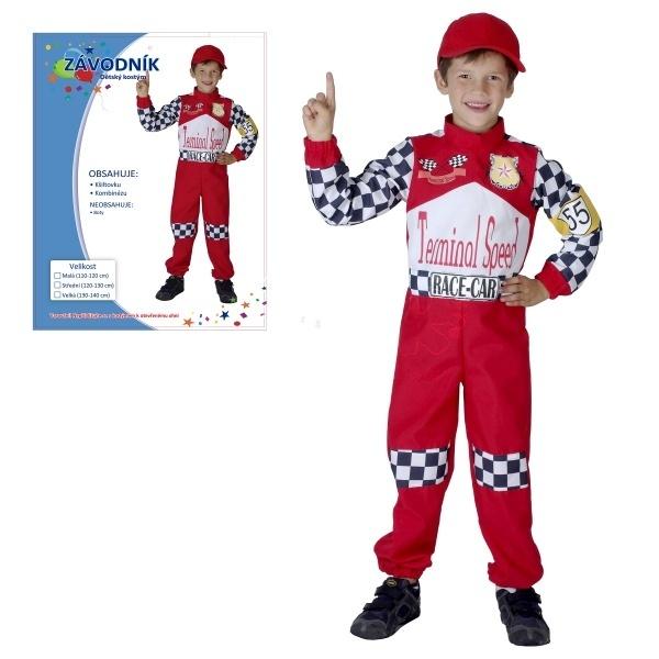 Kostým -závodník