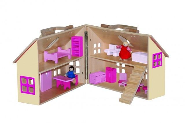 Domeček pro panenky-kufřík