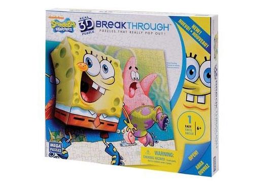 3D Puzzle - Sponge Bob