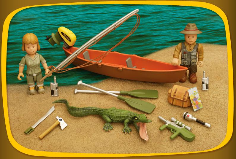Mighty World - Lovci krokodýlů
