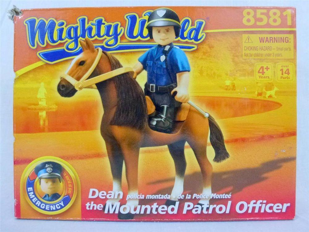 Mighty World - Policejní hlídka na koni