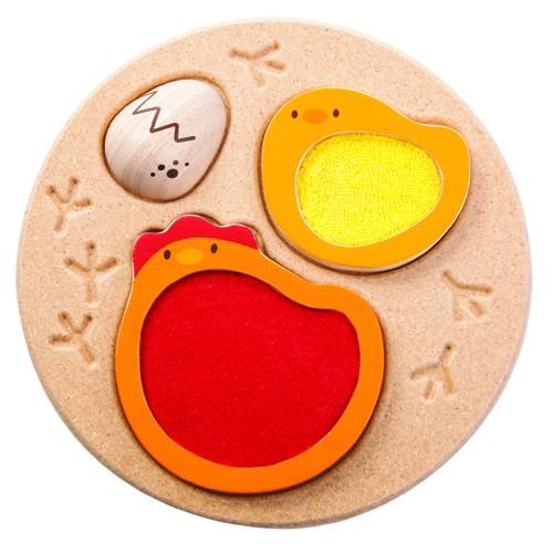 Plan Toys - Životní cyklus kuřete