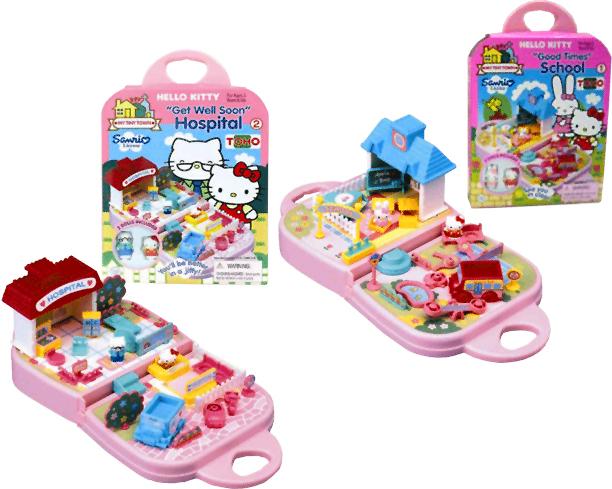 Hello Kitty - Miniměstečko assort