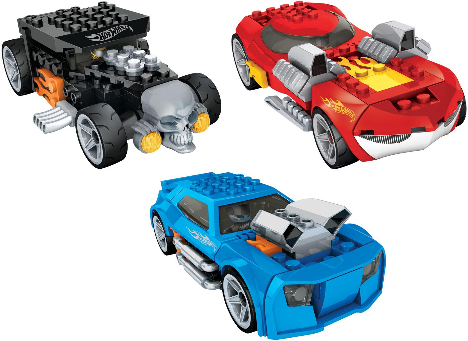 Mega Bloks  - Hot Wheels auto s figurkou