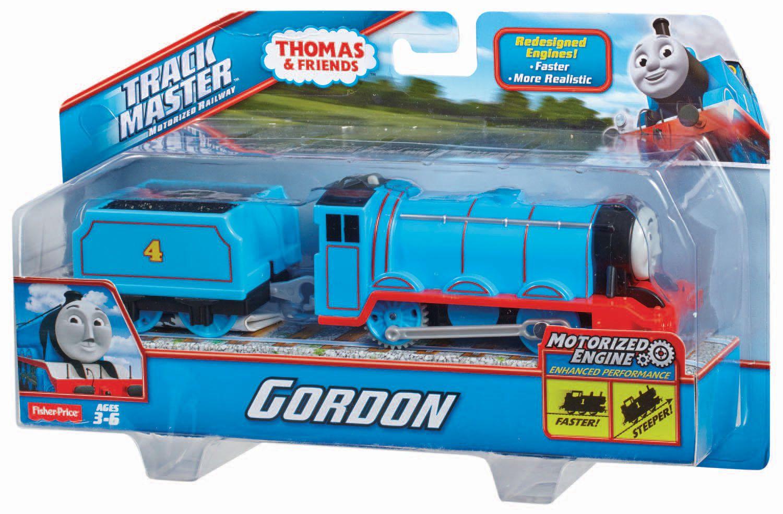Fisher Price - Mašinka Tomáš - Velká motorizovaná Mašinka Gordon
