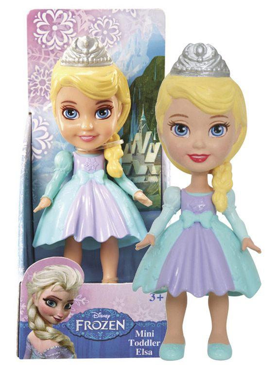 Frozen - mini princeznička Elsa