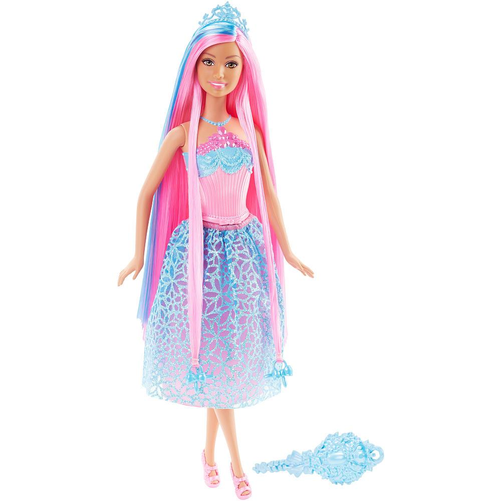 Barbie - Dlouhovláska, růžová