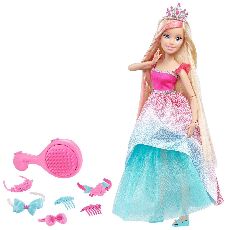 Barbie - Vysoká dlouhovláska blond