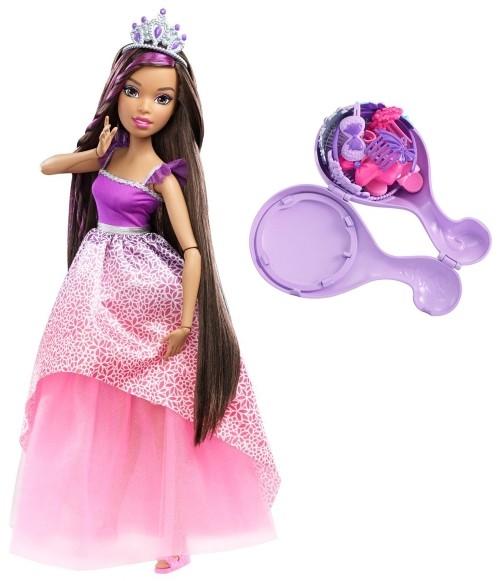 Barbie - Vysoká dlouhovláska brunetka