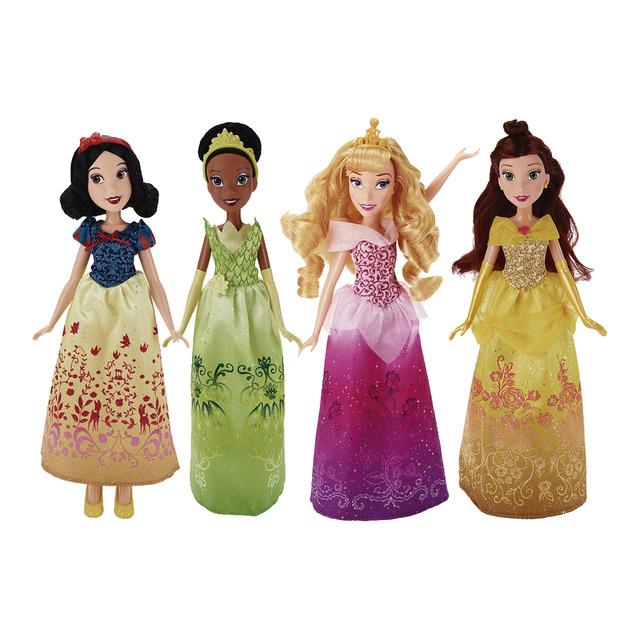 Disney Princess - Bella, Tiana, Sněhurka, Aurora