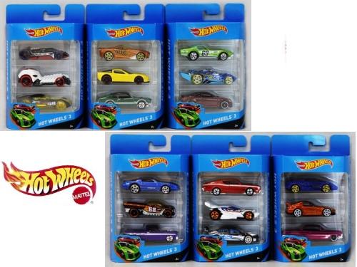 Hot Wheels - 3 ks