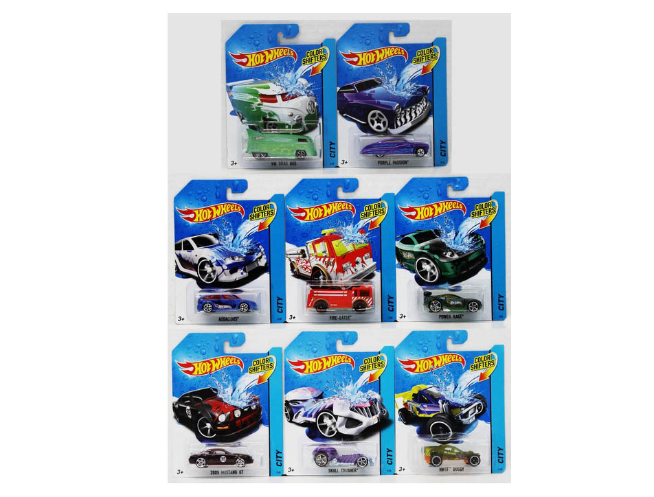 Hot Wheels - Angličák color shifters