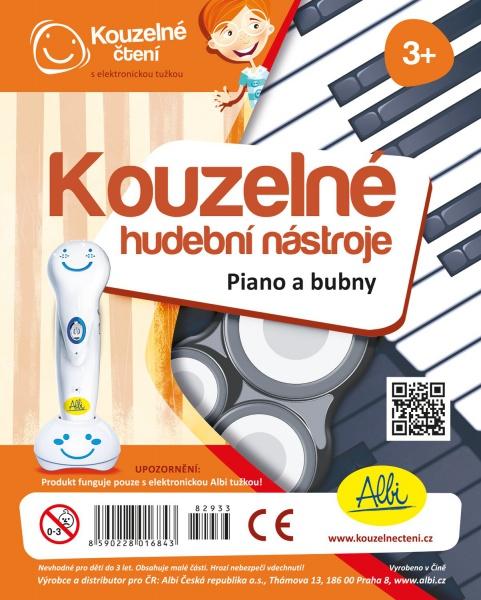 Kouzelné čtení - Kouzelné nástroje - Piano a bubny