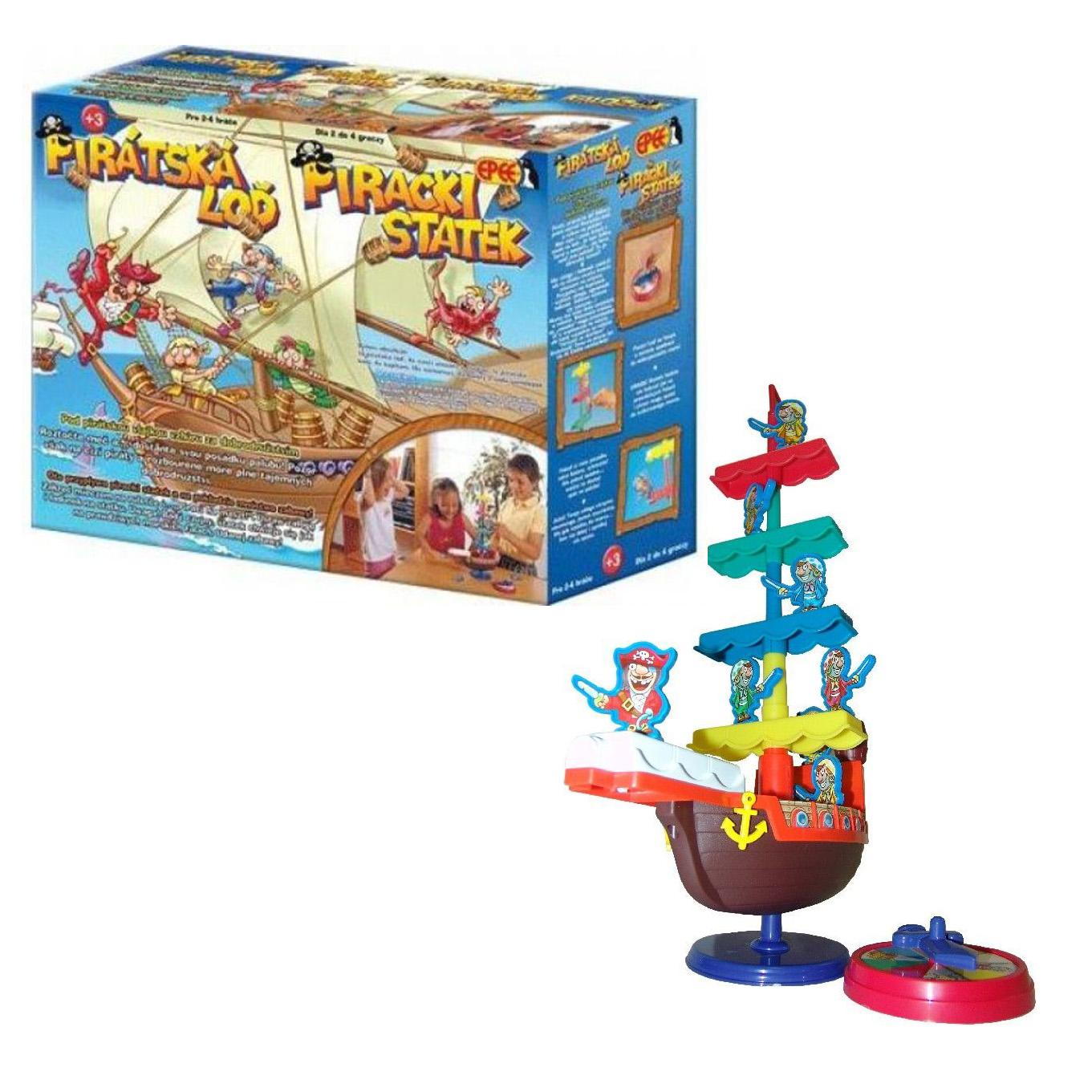 Pirátská loď akční hra