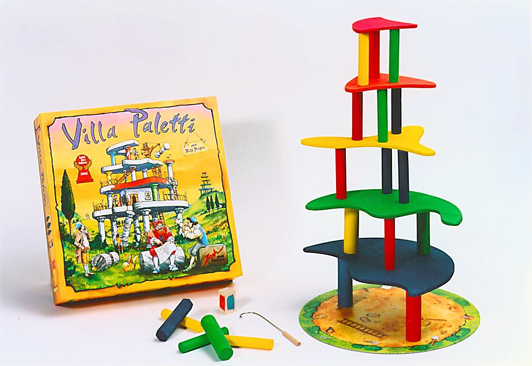 Villa Paletti společenská hra