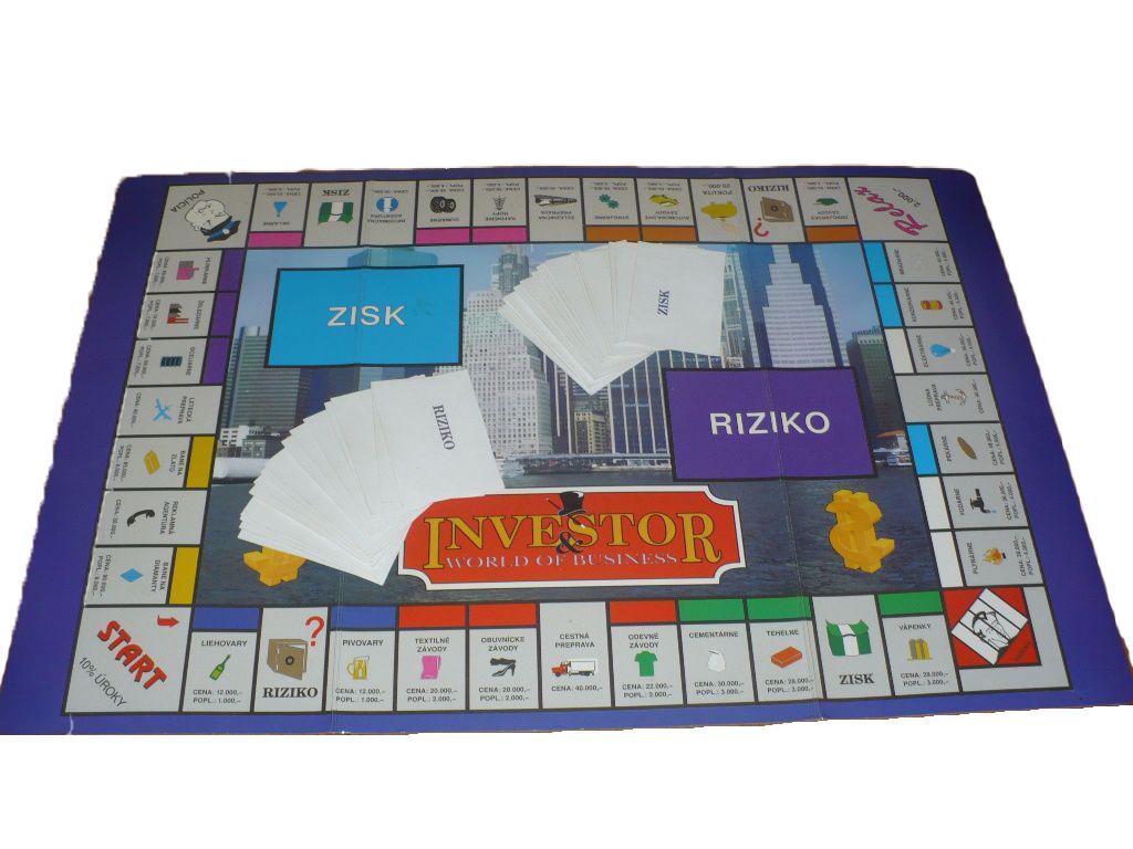 Hra - Investor