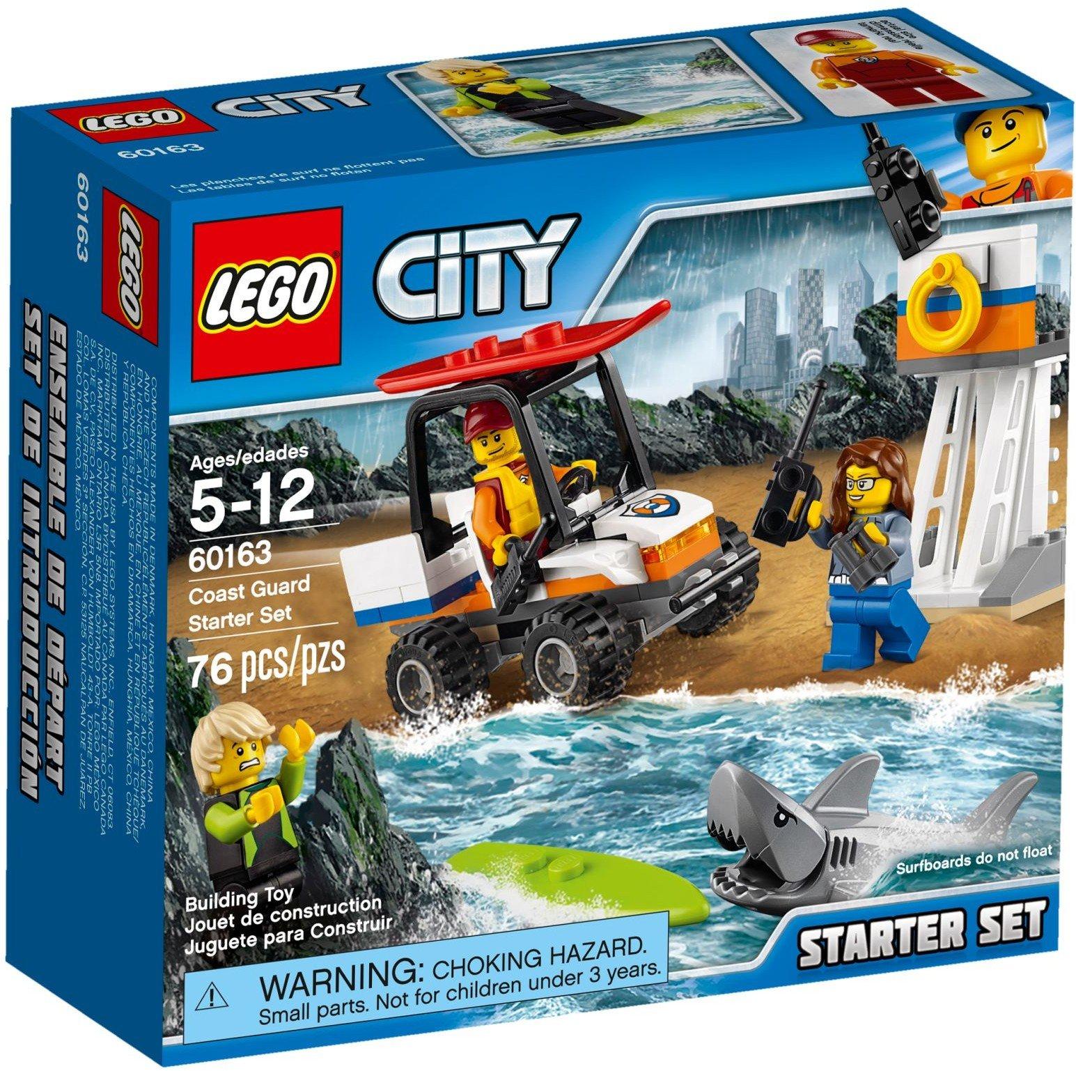 Lego City 60163 - Pobřežní hlídka - Začátečnická sada