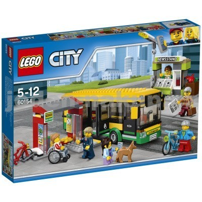Lego City 60154 - Zastávka autobusu