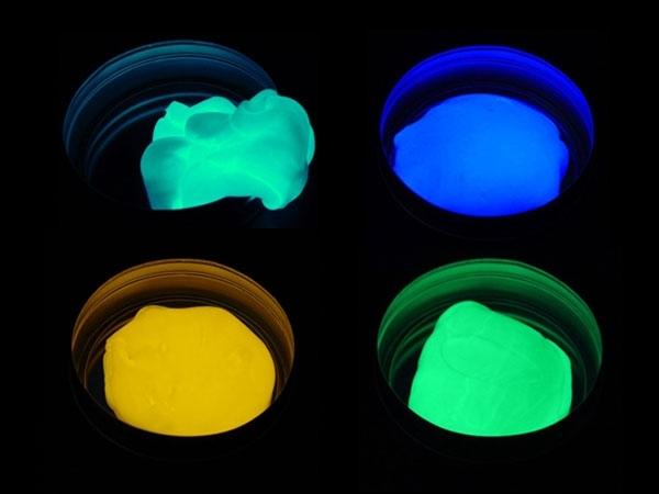 Inteligentní plastelína/modelína svítící 80g