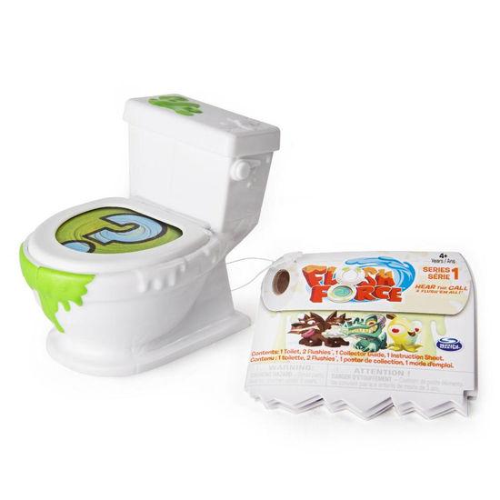 Flush Force - 2 figurky v záchodě