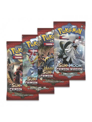 Pokémon - Crimson Invasion  Booster - kartičky