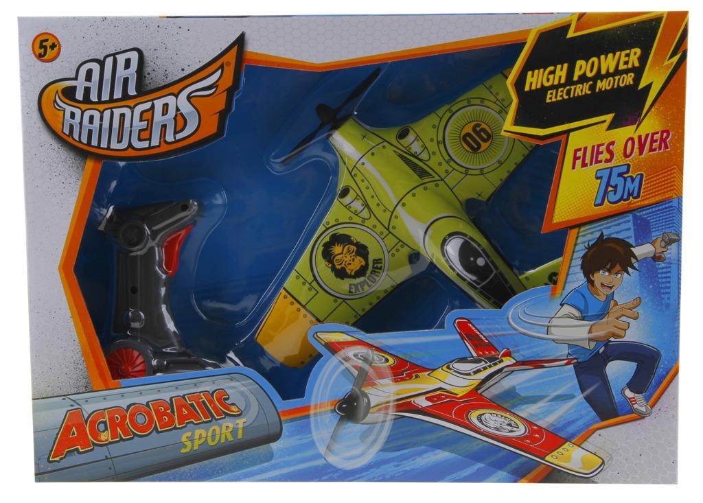 Air Raiders - Letadlo + nabíjecí pistole