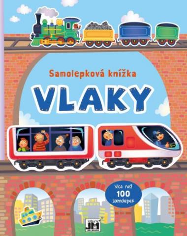 Samolepková knížka - Vlaky