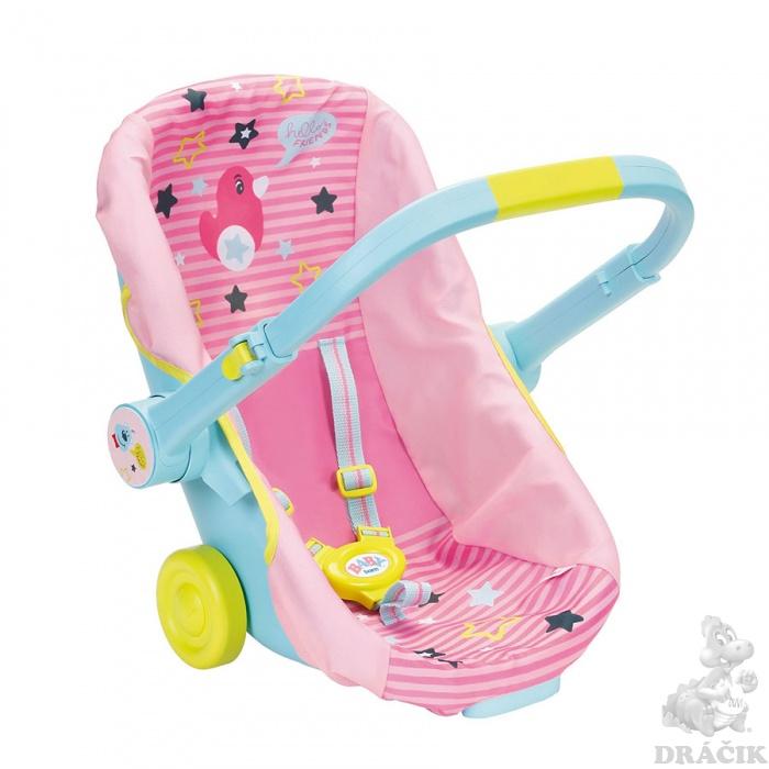 Baby Born - Přenosná sedačka na kolečkách