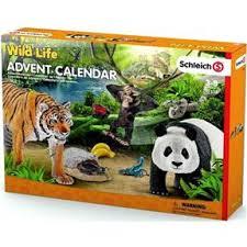 Schleich 97433 - Adventní kalendář Wild Life