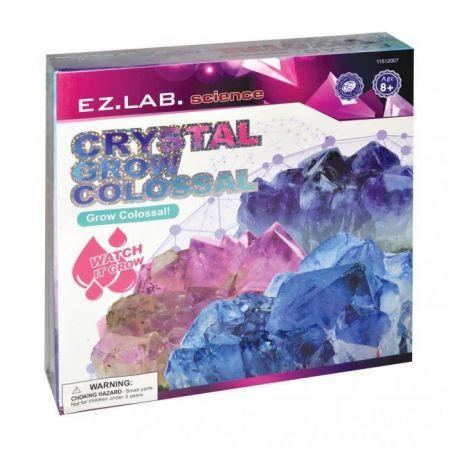 Rostoucí krystal
