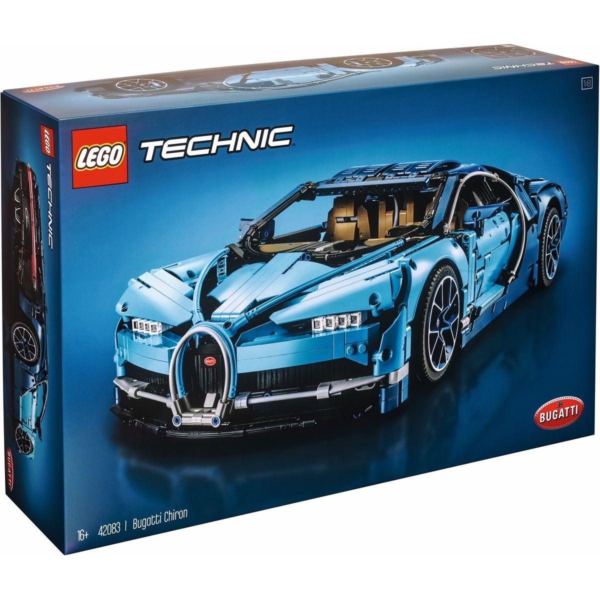 be2d95ae27f Lego Technic 42083 - Bugatti Chiron - Hračky Domino