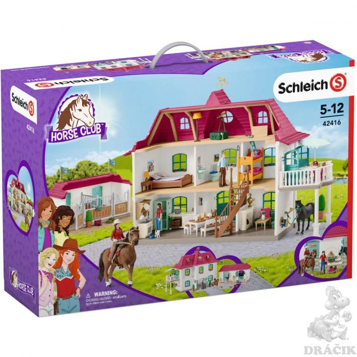 Schleich 42416 - Velký dům se stájí a příslušenstvím