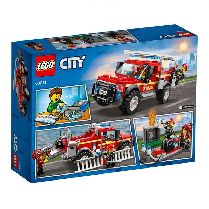 Lego City 60231 - Zásahový vůz