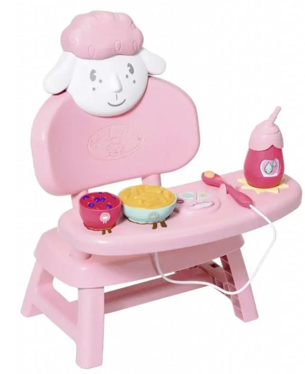 Baby Annabell - Jídelní židlička se zvuky