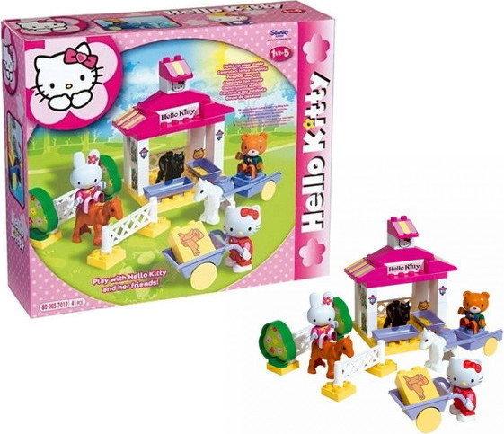 Hello Kitty - Stavebnice stáj