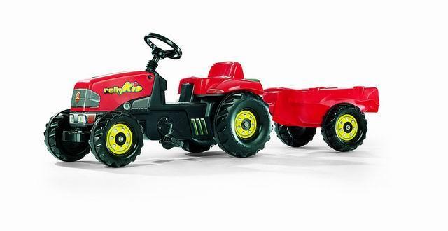 Traktor šlapací s vlečkou