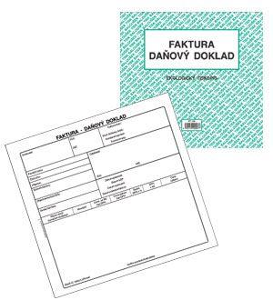 Faktura Daňový Doklad 23 A4 Hračky Domino